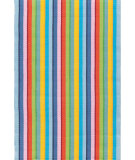 RugStudio presents Dash And Albert Granada 81771 Stripe Woven Area Rug